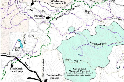 Metolius-Windigo Trail is designated an Oregon Scenic Trail