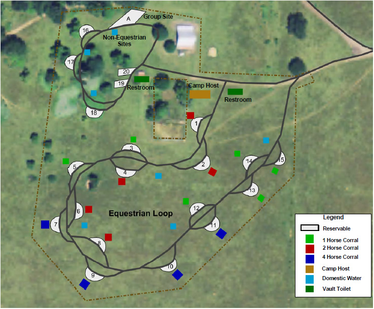 Roseburg Members Help Build Newest Horse Camp at Mildred Kanipe